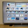 子供のいたずら対策に「液晶テレビ画面保護パネル」を取り付け
