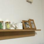 無印良品「壁に付けられる家具」を取り付け