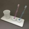 無印良品の白磁器 白い清潔感は洗面所に最適