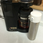 お茶や紅茶もOK マイボトル用にも使えるコーヒーメーカー Panasonic「NC-S35P」