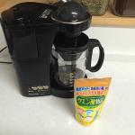 クエン酸でコーヒーメーカーを洗浄