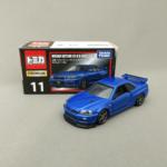 TOMICA PREMIUM No.11 NISSAN スカイライン GT-R V-SPECⅡ Nur